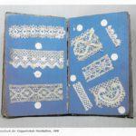 Musterbuch der Klöppelschule Nordhalben, 1906